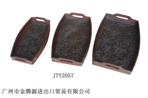 Antique Wooden Tray (JTY2057)