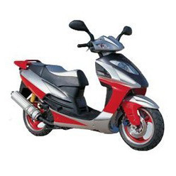 Gas Scooter (YL50QT-35) pictures & photos