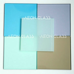 Coloured Mm Laminated Glass