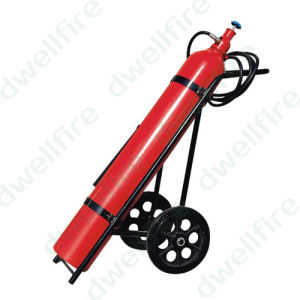 Wheeled CO2 Fire Extinguisher