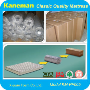 Rolled Spring Mattress (KM-PF005) pictures & photos