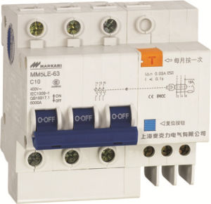 Triple Phase Installation MCB RCCB Protection Circuit Breaer Mini Type pictures & photos