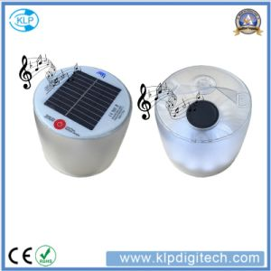 Factory Price Inflatable Solar LED Lamp Solar Lantern with Waterproof Bluetooth Speaker pictures & photos