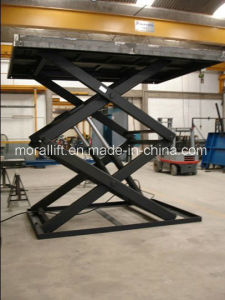 Scissor Lift Table with Hydraulic Drive (SJG3-4) pictures & photos