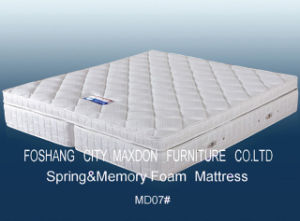 Mattress/Trustworthily Memory Foam Mattress (MD07) pictures & photos
