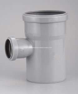PP Collapsible Fitting 110*75mm Tee Mold pictures & photos
