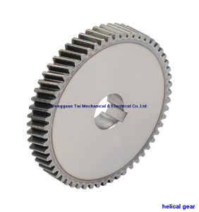 Helical Gear with High Frequency Treatment pictures & photos