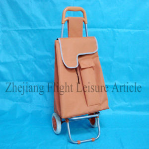 Collapsible Foldable Rolling Shopping Bag on Wheels for Supermarket pictures & photos
