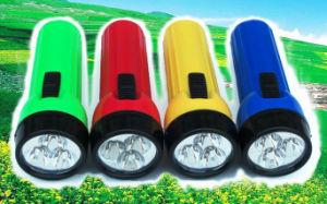 3 LED Plastic Flashlight