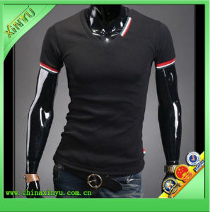 Wholesale Classics Black Polo Shirt for Africa Men pictures & photos