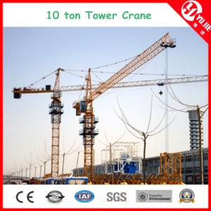 Qtz125 (6015) Max Load 10 Ton Stationary Tower Crane for Sale pictures & photos