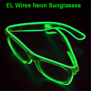 EL Wire Light up Flashing Wayfarers pictures & photos