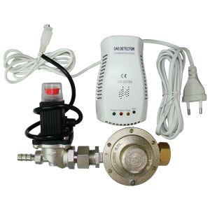 LPG/LNG Gas Alarm with Valve Output