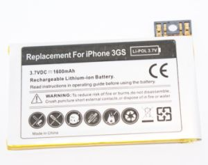 Rechargeable Mobile Phone Battery for iPhone 3GS