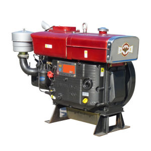14HP Water Cooled Single Cylinder Diesel Engine (ZS195)