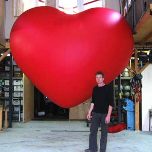 Giant Inflatable Heart for Wedding Decoration pictures & photos