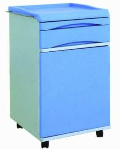 ABS Hospital Bedside Cabinet, Hospital Bed Table with Drawer (K-5) pictures & photos