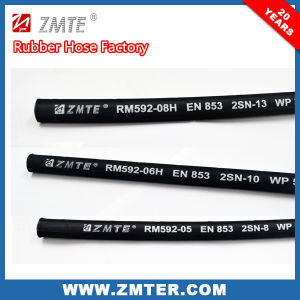 En856 4sh High Pressure Hydraulic Spiral Rubber Hose pictures & photos