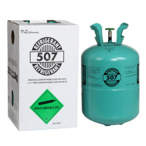 R507 Refrigerant Gas 11.3kg/25lb for Air Conditioning