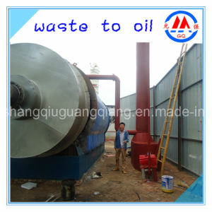 Used Tyre Recycling Pyrolysis Plant