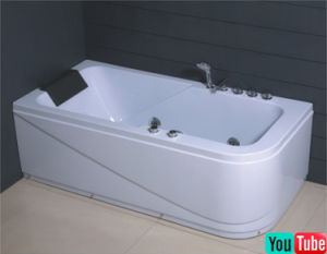 Soncap Certified Whirlpool Jacuzzi Bathtub (C-1807) pictures & photos
