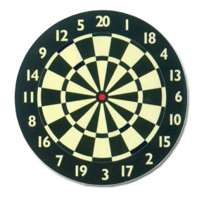 Paper Dartboard (PD-006) pictures & photos