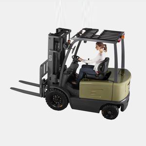 4-Wheel Battery Forklift (FB30-FAZ1) pictures & photos