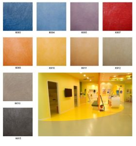 Commercial PVC Flooring 3.3mm*2.0m*15m/Roll pictures & photos