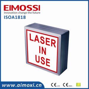 LED Dim Method Laser in Use Sign pictures & photos