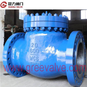 API Standard Cast Iron Swing Check Valve pictures & photos