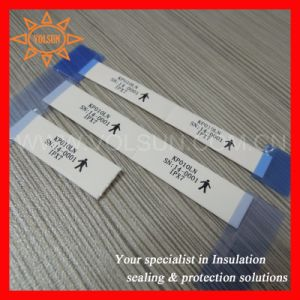 Environmentally Friendly 125 Degree Permanent PE Heat Shrink Identification Sleeve pictures & photos