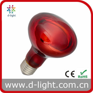 Infrared Heat R80 E27 Red Incandescent Bulb