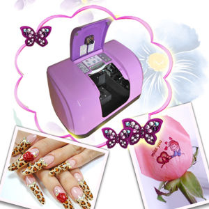 EGET Multifunction Printer Print on 5 Hand Nails, 1 Flower, with FCC, CE (SP-M06B2)