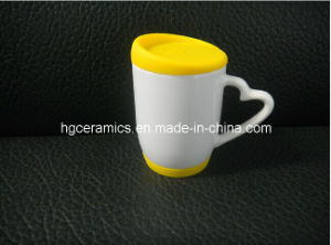 Sublimation Mug with Silicon Lid and Bottom pictures & photos
