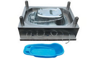 Plastic Molding for The Wash Basin pictures & photos