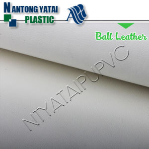 Leatherette Manufacturer Fashion PU Ball Leather pictures & photos