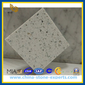 Artificial Stone Quartz, White Quartz, Artificial Stone (YQZ-QS1007) pictures & photos