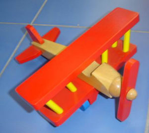 Wooden Toys - Helicopter (ZYYB-0001)