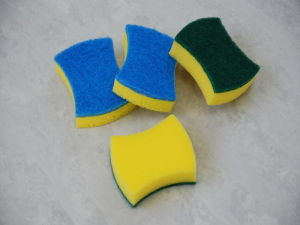 Cleaning Sponge Scourer (YS03) pictures & photos