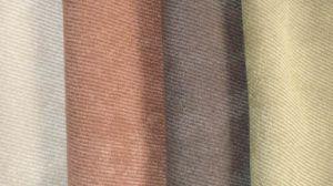 Micro Fiber Twill Suede Fabric