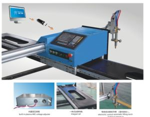 Znc 1800A CNC Plasma Cutting in High Precision and Steability pictures & photos