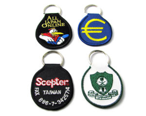 A01 Embroidered Keyholders pictures & photos