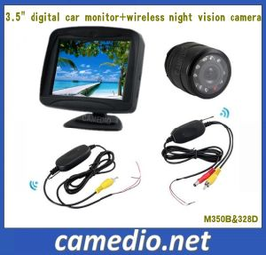3.5/4.3/7inch Wireless Rear View Camera System for Cars pictures & photos