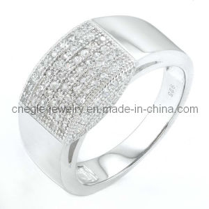 925 Sterling Silver CZ Jewelry/CZ Ring/Finger Ring