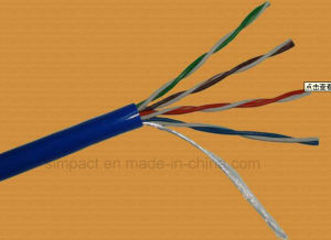 Cheaper Top Quality Twisted Multipair UTP Cat5e 24AWG PVC/LSZH Fluke Test Cat5e LAN Cable pictures & photos
