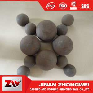 90mm-150mm B3 Wear-Resistant High Hardness Forged Grinding Steel Ball for Mining pictures & photos