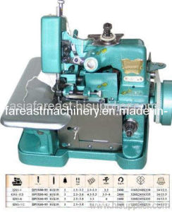 Medium-Speed Overlock Sewing Machine (GN1-6D) pictures & photos