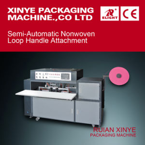 Semi-Automatic Nonwoven Loop Handle Attachment pictures & photos