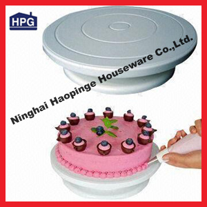 Plastic Cake Decorating Rotating Turntable (professional supplier)