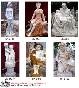 Hand Carved Marble Carving for Garden pictures & photos